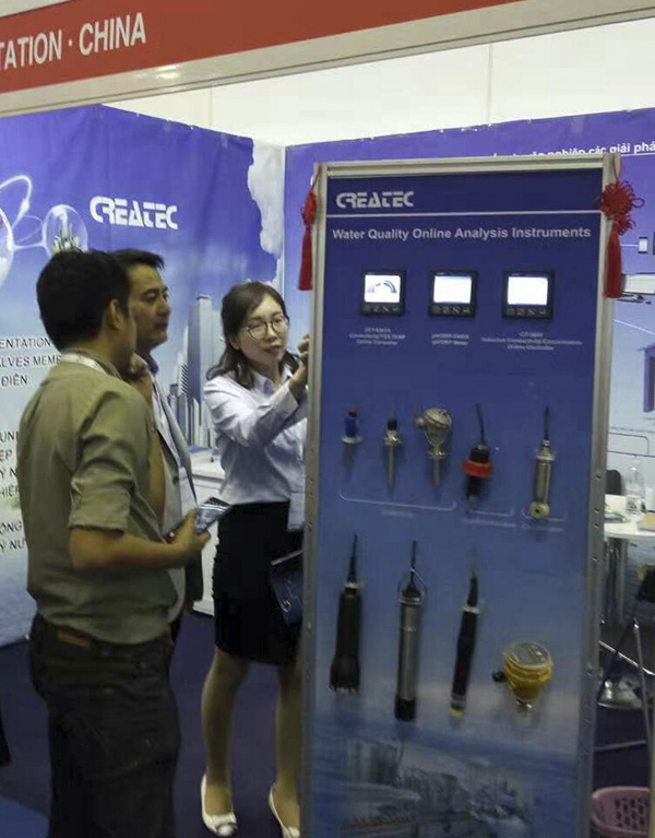 Second day of CREATEC at the 2018 VietWater Expo